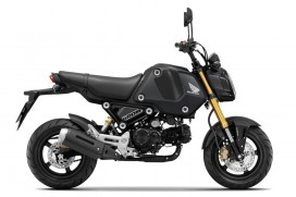 "Honda MSX125 ""GROM"" Matt Gunpowder Black Metallic Modell 2021"