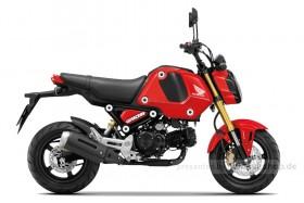 """Honda MSX125 """"GROM"""" Gayety Red Modell 2021"""
