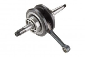 Kurbelwelle 50cc 70cc 6 Volt 41,4 mm Hub langer Zapfen