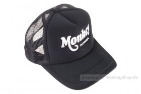 Schirmmütze Kappe Base Cap Snapback Monkey schwarz