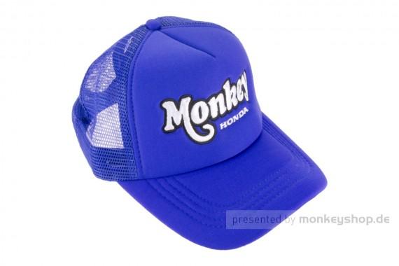Schirmmütze Kappe Base Cap Snapback Monkey blau
