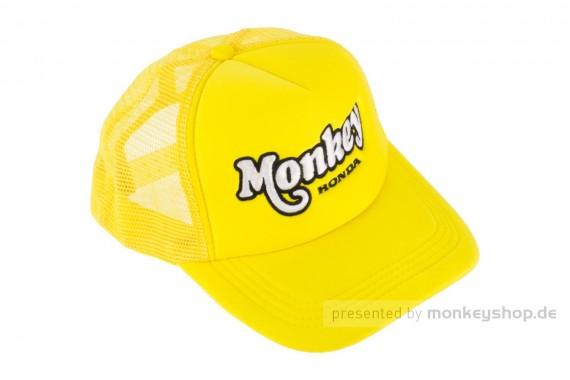Schirmmütze Kappe Base Cap Snapback Monkey gelb