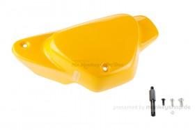 J-MAX Seitendeckel rechts ABS gelb f. Monkey 125