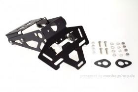 H2C Kennzeichenhalter Fender Less Kit Aluminium f. MSX125 Grom JC92