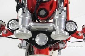 Takegawa Gabel Schrauben Set Aluminium CNC silber f. Monkey + Dax