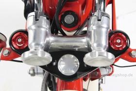 Takegawa Gabel Schrauben Set Aluminium CNC rot f. Monkey + Dax