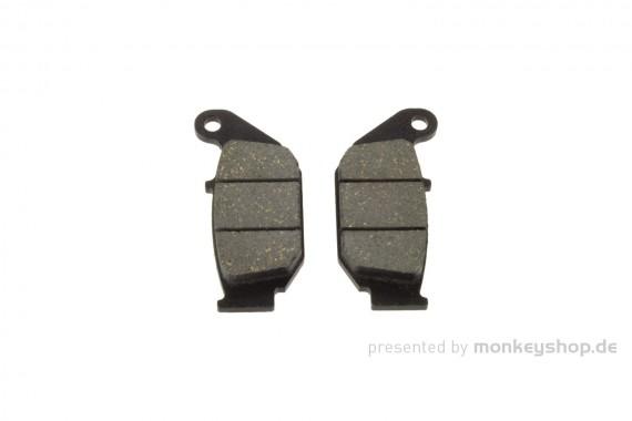 Braking SM1 Bremsbeläge Scheibenbremse hinten f. MSX + Monkey 125