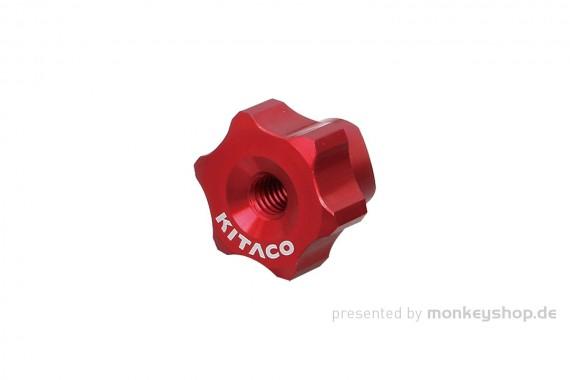 Kitaco Einstellmutter Bremse Aluminium CNC rot