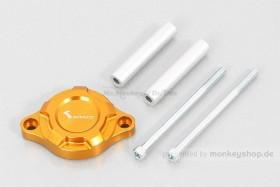 Kitaco E-Starter Deckel Aluminium CNC gold eloxiert f. MSX Grom JC92