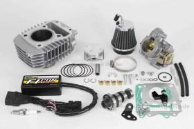 Takegawa Hyper e-Stage N15 143 cc Bore Up Tuning Kit mit FI-Controller Type-e & gr. Drosselklappe f. Monkey 125