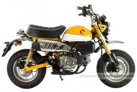Honda Monkey 125 gelb EZ 01/2020 3150km