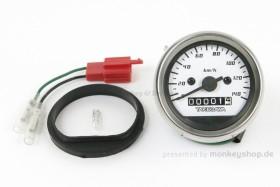 Takegawa D-Type Tachometer weiß