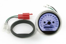 Takegawa D-Type LED Tachometer weiß