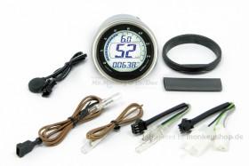 Takegawa D-Type LCD Tachometer Drehzahlmesser