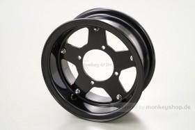 Daytona 3.50x8 5-Speichen Felge Alu schwarz 2-teilig