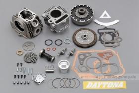 Daytona SOHC 2-Valve Hyper Head Kit 88 cc 12 Volt + verstärkte Handkupplung