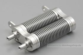 Daytona Ölkühler Silber 180°