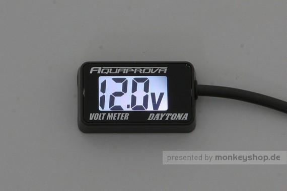 Daytona Aquaprova LCD Voltmeter