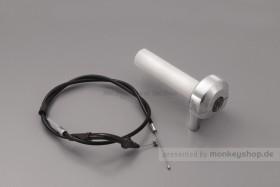 Daytona Schnellgasgriff 680 mm silber