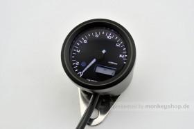 Daytona Velona ø48 Drehzahlmesser 15000 RPM schwarz