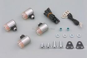 Daytona Blinker SR400/500 Satz (poliert / clear)